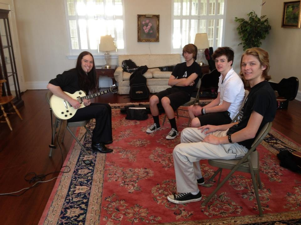 Classical guitar masterclass by Sky Vito at the Austin School for the Performing and Visual Arts