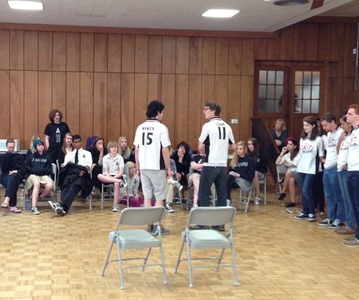 Masterclass by Yale Improv Players at the Austin School for the performing arts.
